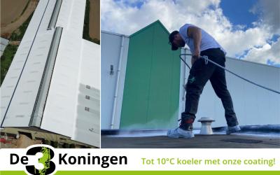 Onze coating is de oplossing tegen de warmte!