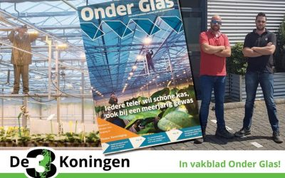 Reportage in Onder Glas!